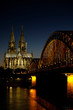 Cathedral of Cologne by Sunset