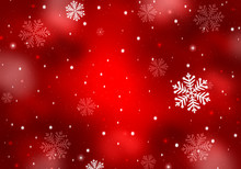 Winter Background, Christmas - Greeting Card