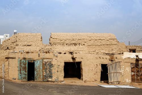 Keuken foto achterwand Oude gebouw Saudi historical villages house
