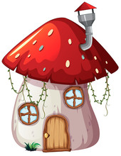 A Design Of Mushroom Magic House