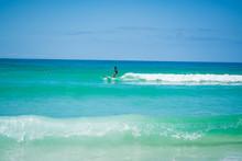 Surfers On The Gulf Coast