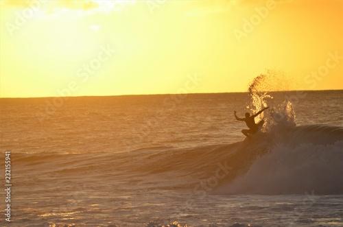 Pipeline Wave Surfer