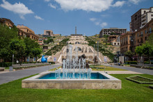 Armenia, Yerevan, The Cascade,...