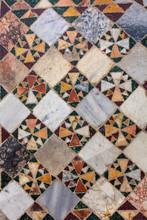 Mosaic Floor, Basilica Of Sant'Elia, Castel Sant'Elia, Viterbo, Lazio, Italy