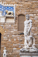 Statues Of Hercules And Cacus ...