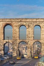 Aqueduct Of Emperor Valens (368), Valens Su Kemeri, Istanbul, Turkey