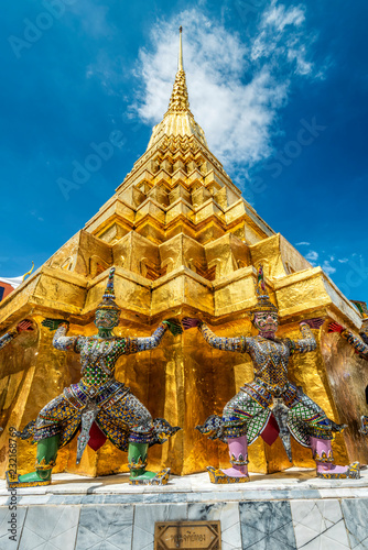 Yaksha Guardians, Wat Phra Kaew, Bangkok, Thailand