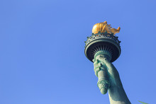 Torch Of Statue Of Liberty Aga...