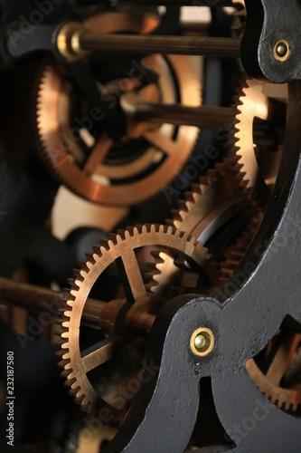 Fotografie, Obraz  Mécanisme de précision