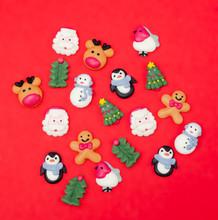 Christmas Food Decorations.  C...