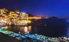 Genova -    Former   Fishing Village,  Boccadasse,  -  Landmark Of Genova !