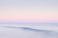 Gentle Wave At Sunset