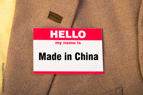 Fotografija  Made in China.