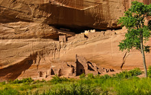 Ancient Cliff Dwelling And Rock Art