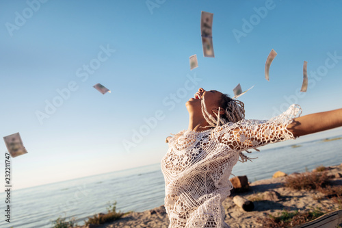 Fotografia  Money in air