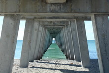 Underneath A Fishing Pier On T...