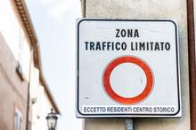 Zona Traffico Limitato, Limite...