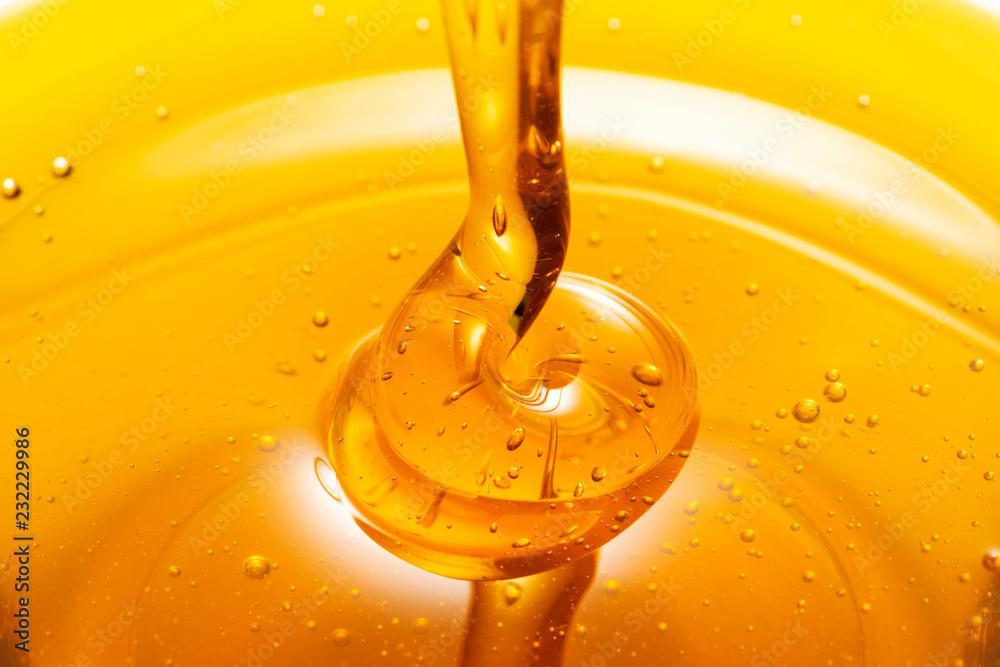Fototapety, obrazy: 蜂蜜のクローズアップ