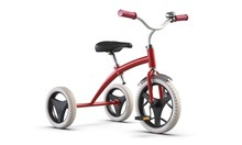 3D Illustrate Of Children's Tricycle Pink Bicycle Isolated On White Background