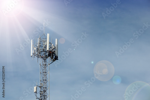 Professional services for smart phone wireless network Tablou Canvas
