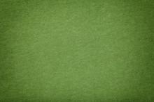 Light Green Matt Suede Fabric Closeup. Velvet Texture.