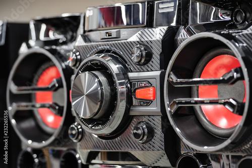 Fotografía  Compact digital stereo system player