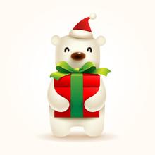 Christmas Cute Little Polar Be...