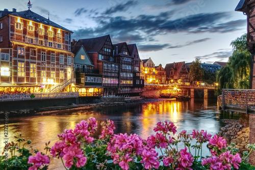 ein lauer Sommerabend am Lüneburger Stint.