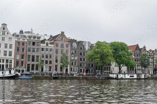 Aluminium Prints Amsterdam The beautiful Amsterdam in june.