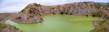 Green Lake Panorama In A Forme...