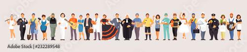 Fotografía Large set of professions