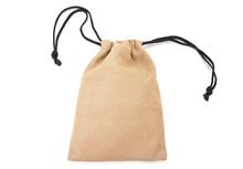 Brown Sackcloth Drawstring Bag...