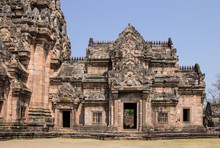 Phanom Rung Historical Park (Prasat Hin Phanom Rung) In Buriram, North East Thailand