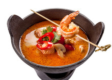 Tom Yum Goong Spicy Soup Tradi...