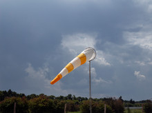 Wind Indicator On The Airfield