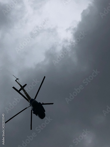 Staande foto Helicopter 1