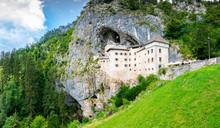 Predjama Castle, Slovenia. Sce...