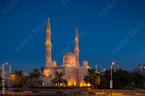 Obraz na plátne  Jumeirah Moschee in Dubai