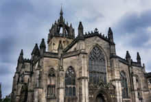 Saint Giles Cathedral In Edinb...