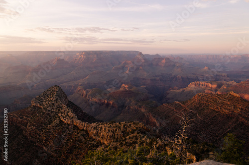 In de dag Chocoladebruin Grand Canyon, Arizona, USA iconic landscape. Scenic sunset view