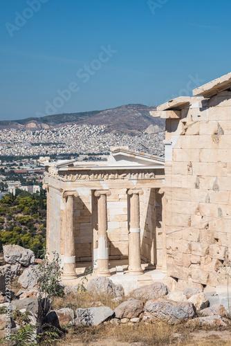 Fotografie, Obraz  Temple of Athena Nike on the Acropolis in Athens