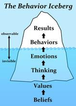 Behavior Iceberg