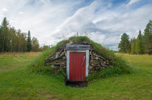 A Traditional Root Cellar A Underground Storage Room