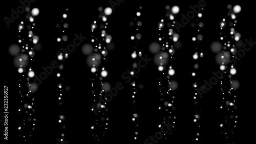 Valokuva  Weihnachtshintergrund elegant schwarz