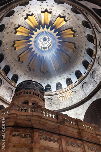 Canvas Print Church of the Holy Sepulcher