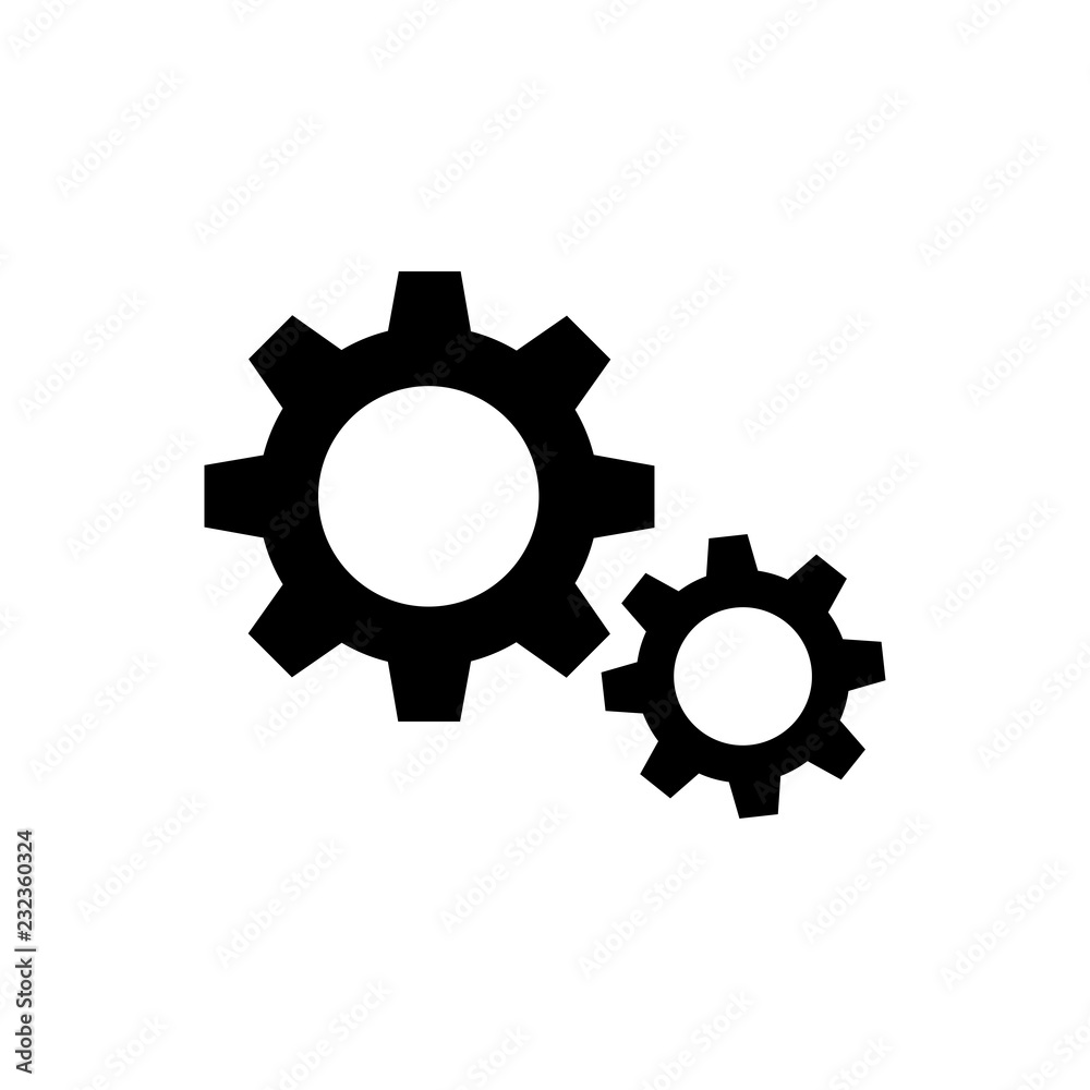 Fototapety, obrazy: Gars, options glyph icon