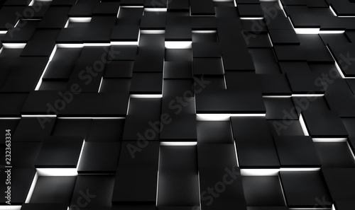 Fotobehang Stof Abstract 3D Background