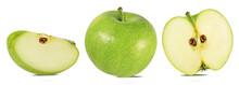 Fresh Green Apple Isolated On ...