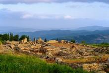 Ancient City Byllis, Qarier Fier, Albania, Europe