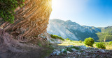 Wallking path to mountain Babadag, Oludeniz, Turkey
